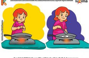 ilustrasi rahasia keajaiban benda, Apa Contoh Perubahan Wujud yang Tidak Bisa Balik
