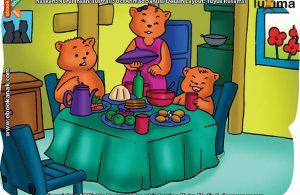 ilustrasi rahasia keajaiban makhluk hidup, Apa Beruang Suka Makan Segala