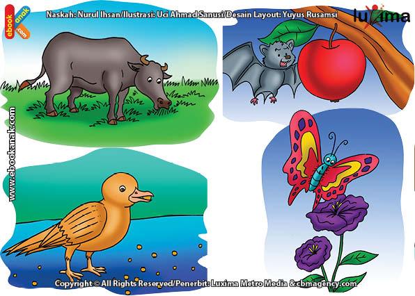 66 Gambar Ilustrasi Hewan Dan Tumbuhan HD Terbaru