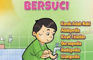 Cover ebook seri komik adab anak muslim adab bersuci