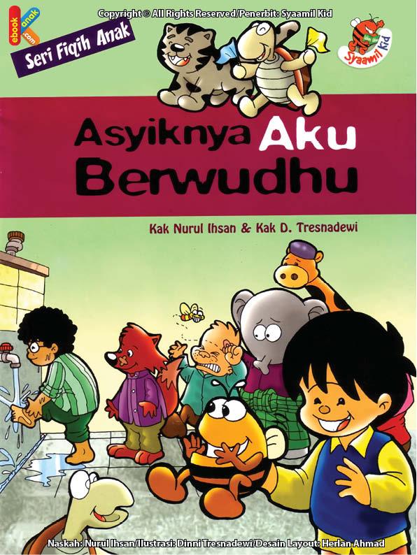 baca dan download gratis ebook seri fiqih anak asyiknya aku berwudhu