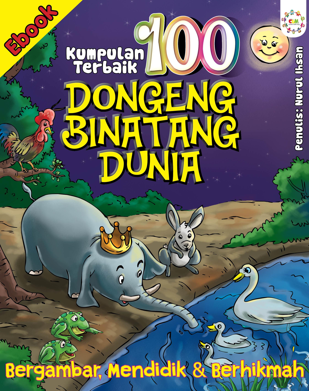cover ebook 100 dongeng binatang dunia