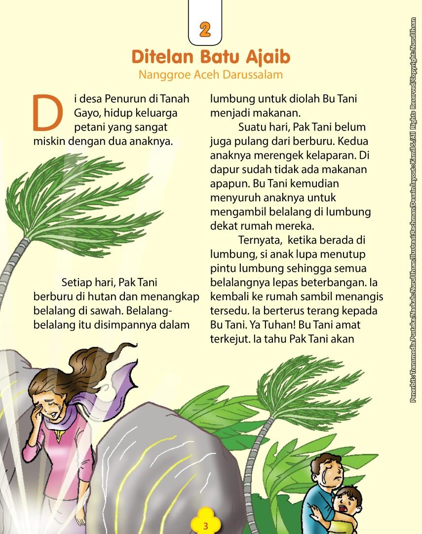 download ebook 101 dongeng nusantara, ditelan batu ajaib, nanggroe aceh darussalam