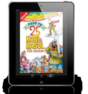 ebook 25 nabi dan rasul kisah teladan dan hikmah anak paud tk