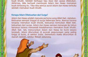ebook 25 nabi dan rasul kisah teladan dan hikmah paud tk, nabi adam