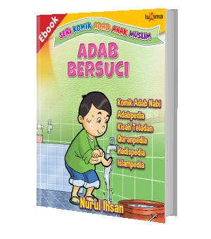 ebook seri komik adab anak muslim adab bersuci