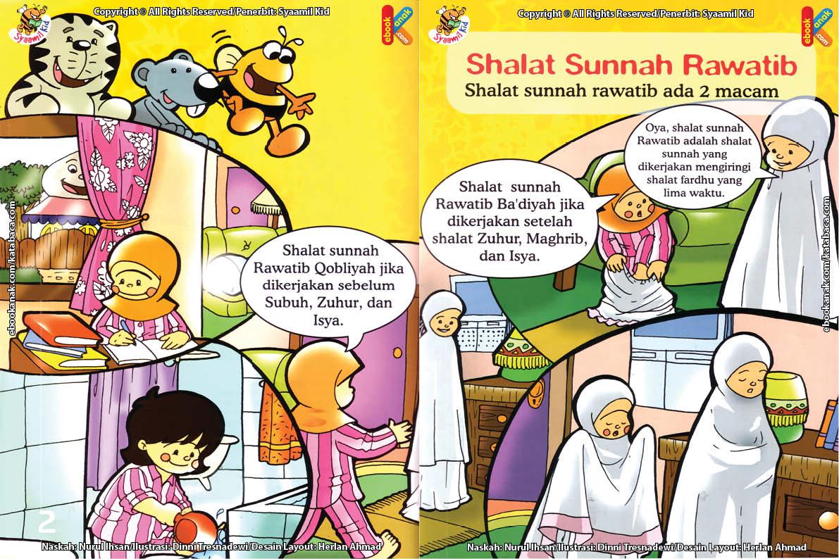 seri fiqih anak asyiknya aku shalat sunnah, Apa Perbedaan Shalat Sunnah Rawatib Qobliyah dan Rawatib Badiyah