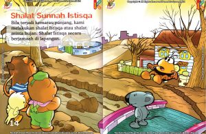 seri fiqih anak asyiknya aku shalat sunnah, Di Manakah Tempat yang Dianjurkan Melaksanakan Shalat Istisqa