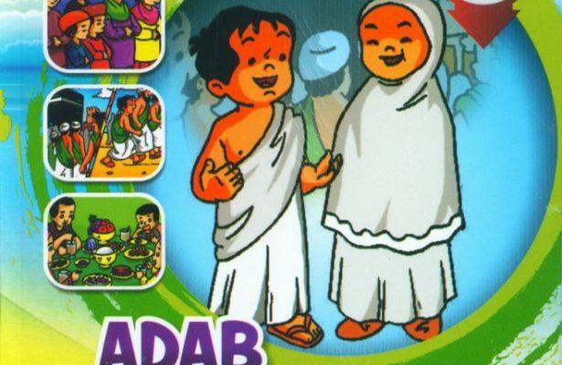 Download Ebook Seri Komik Adab Anak Muslim Adab Ibadah cover depan