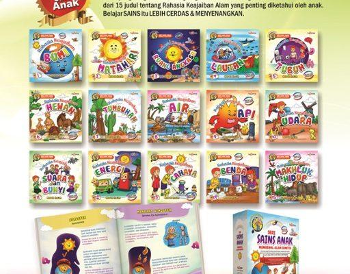 download ebook 15 judul seri sains anak mengenal alam semesta