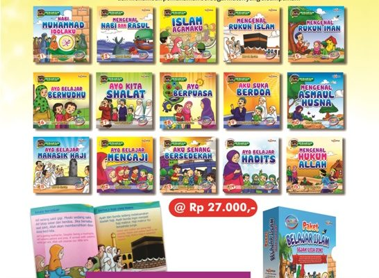 download ebook seri belajar islam sejak usia dini