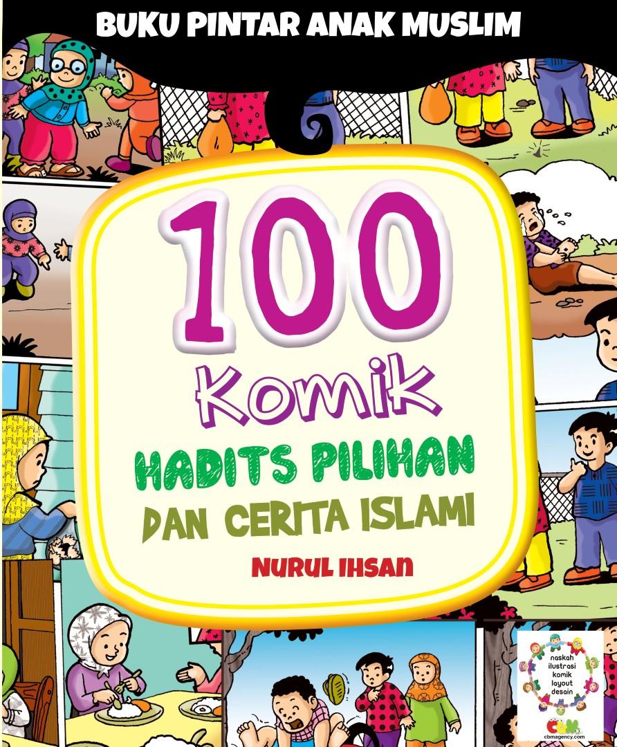 Download Ebook 100 Komik Hadits Nabi Pilihan dan Cerita Islam