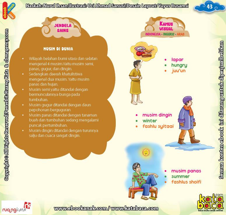 Download Ebook Juz Amma Bergambar 3 Bahasa for Kids, Musim di Dunia