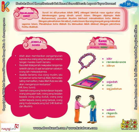 Download Ebook Juz Amma for Kids, Penjelasan Surat Al Nashr