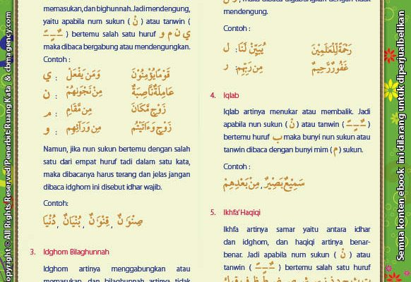 Download Ebook Juz Amma for Kids, idgom bigunnah