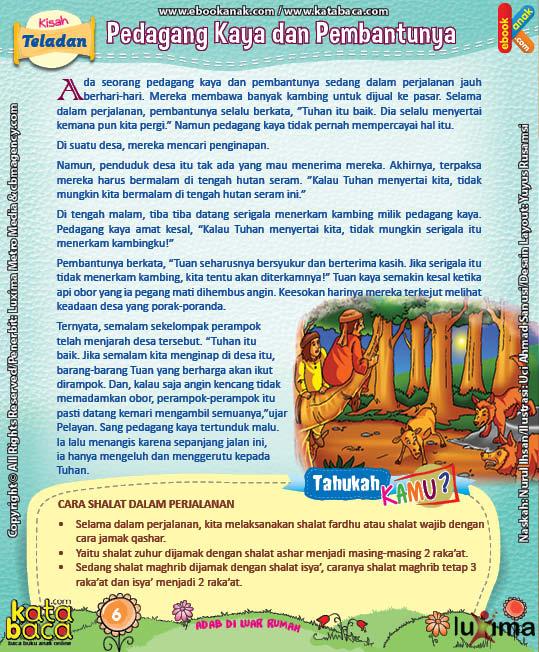 Download Ebook Komik Seri Adab Anak Muslim, Adab di Luar Rumah10