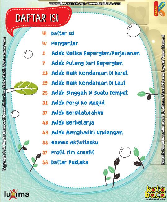 Download Ebook Komik Seri Adab Anak Muslim, Adab di Luar Rumah3