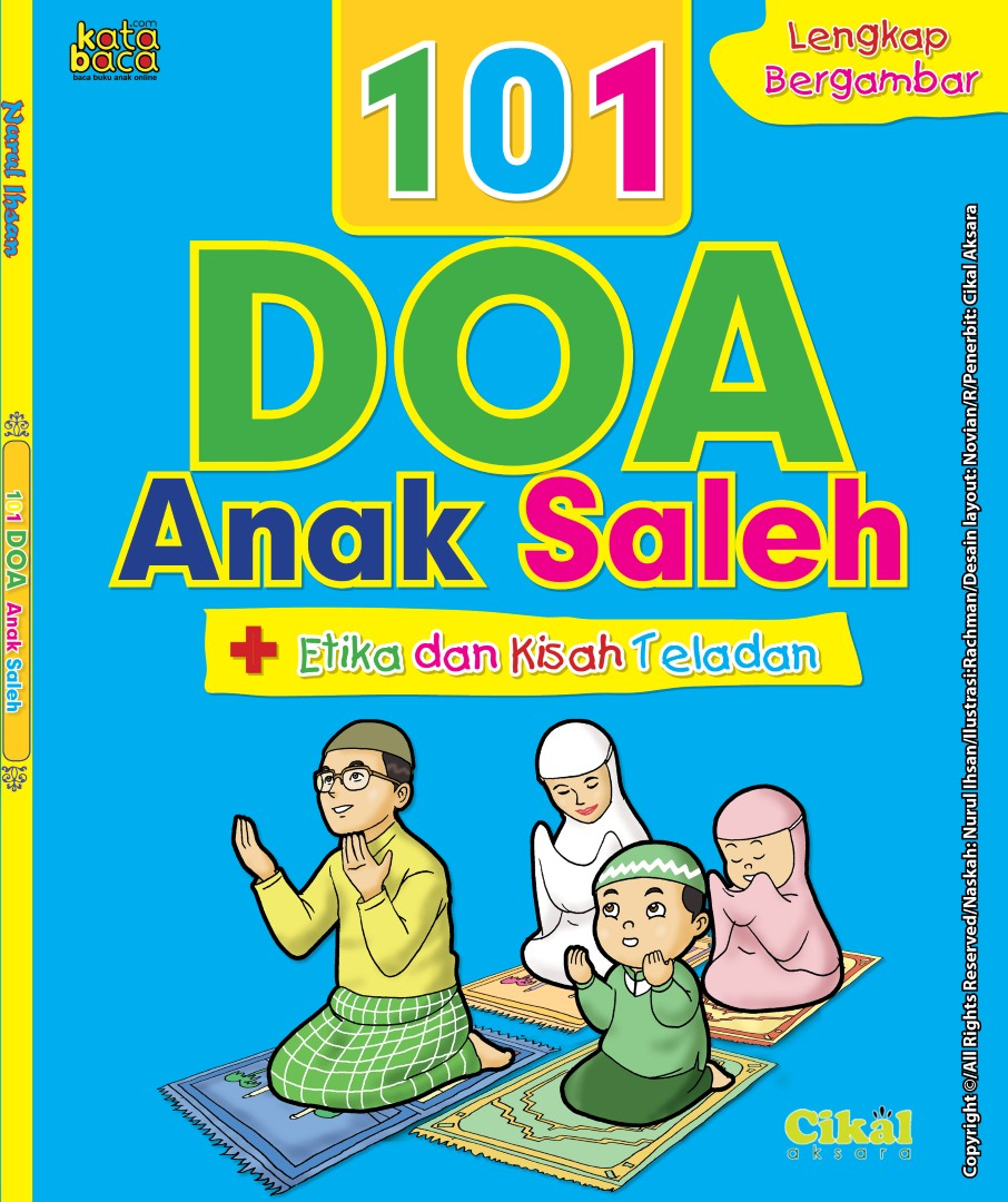 Download Ebook Panduan Lengkap 101 Doa Anak Saleh, Etika dan Kisah Teladan