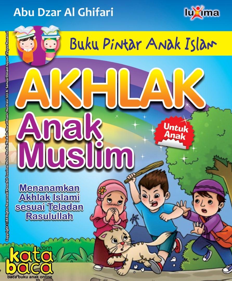 Download Ebook Panduan Lengkap Belajar Akhlak untuk Anak dan Pelajar