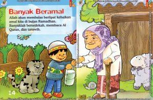 Download Ebook Seri Fikih Anak Asyiknya Aku Puasa Ramadhan, Banyak Beramal