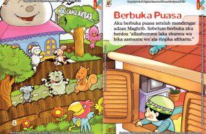 Download Ebook Seri Fikih Anak Asyiknya Aku Puasa Ramadhan, Berbuka Puasa