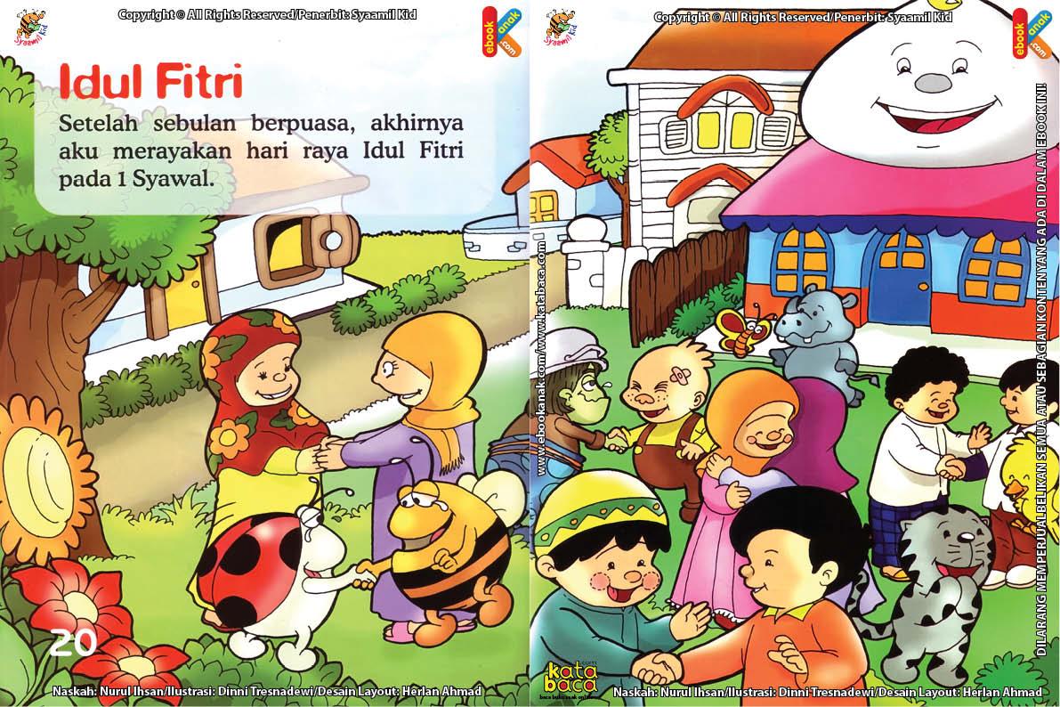 Download Ebook Seri Fikih Anak Asyiknya Aku Puasa Ramadhan, Idul Fitri