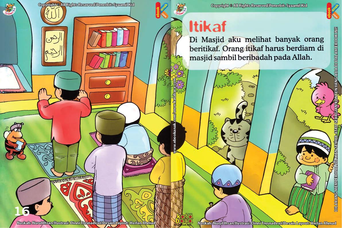Download Ebook Seri Fikih Anak Asyiknya Aku Puasa Ramadhan, Itikaf