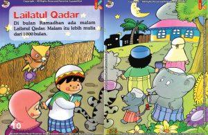 Download Ebook Seri Fikih Anak Asyiknya Aku Puasa Ramadhan, Lailatul Qadar
