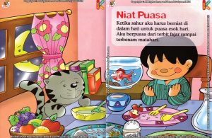 Download Ebook Seri Fikih Anak Asyiknya Aku Puasa Ramadhan, Niat Puasa