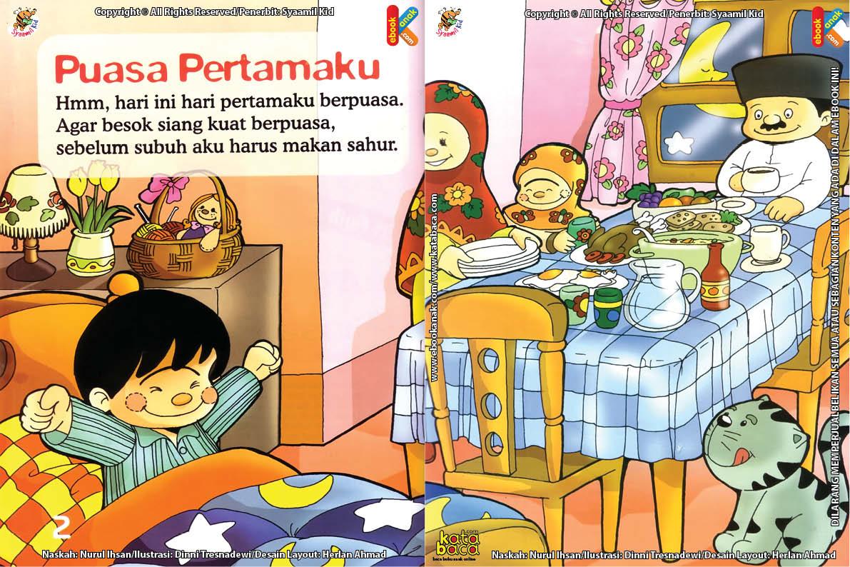 Download Ebook Seri Fikih Anak Asyiknya Aku Puasa Ramadhan, Puasa Pertamaku