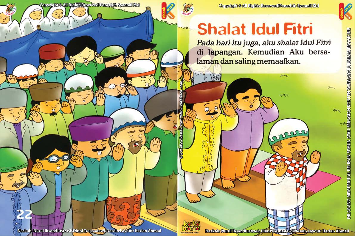 Download Ebook Seri Fikih Anak Asyiknya Aku Puasa Ramadhan, Shalat Idul Fitri