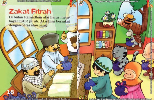 Download Ebook Seri Fikih Anak Asyiknya Aku Puasa Ramadhan, Zakat Fitrah