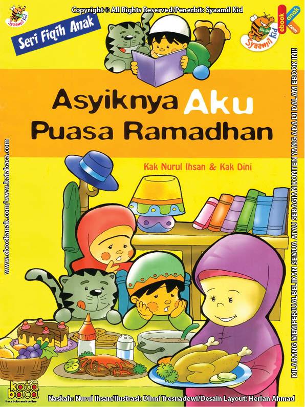 Download Ebook Seri Fikih Anak Asyiknya Aku Puasa Ramadhan