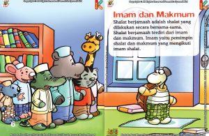 Download Ebook Seri Fiqih Anak Asyiknya Aku Shalat Berjamaah, Imam dan Makmum