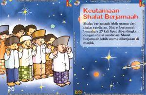 Download Ebook Seri Fiqih Anak, Asyiknya Aku Shalat Berjamaah, Keutamaan Shalat Berjamaah