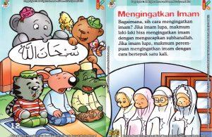 Download Ebook Seri Fiqih Anak Asyiknya Aku Shalat Berjamaah, Mengingatkan Imam