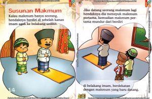 Download Ebook Seri Fiqih Anak Asyiknya Aku Shalat Berjamaah, Susunan Makmum