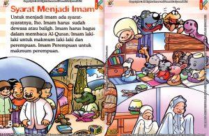 Download Ebook Seri Fiqih Anak Asyiknya Aku Shalat Berjamaah, Syarat Menjadi Imam