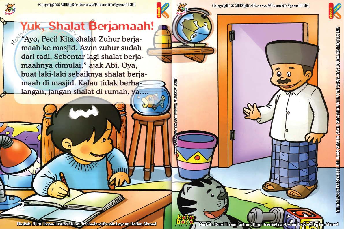 Download Ebook Seri Fiqih Anak Asyiknya Aku Shalat Berjamaah, Yuk, Shalat Berjamaah