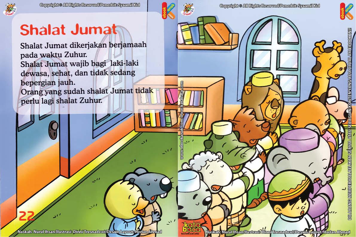 Download Ebook Seri Fiqih, Anak Asyiknya Aku Shalat Berjamaah,Shalat Jumat