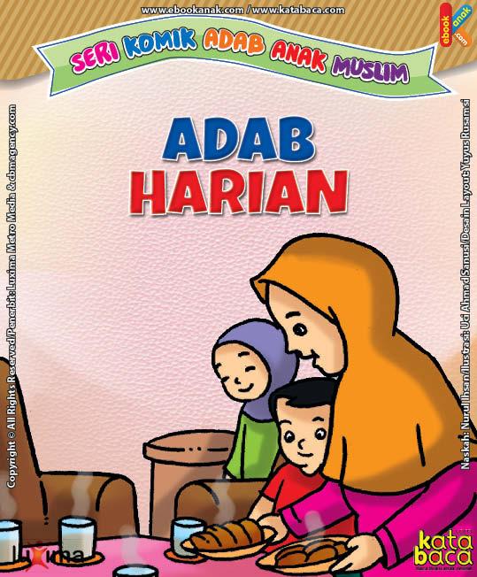 Download Ebook Seri Komik Adab Anak Muslim, Adab Harian