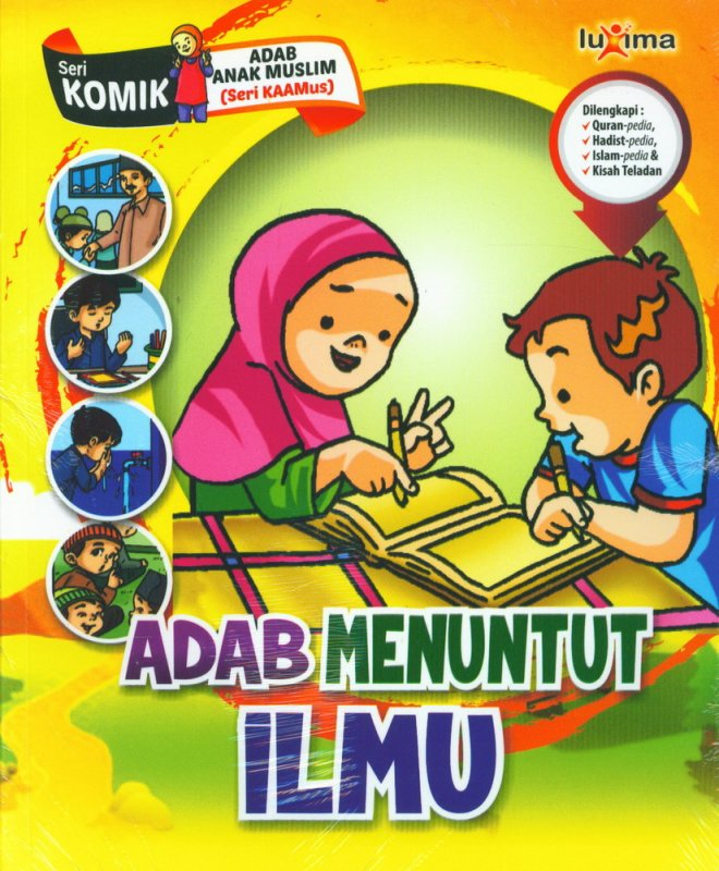 Download Ebook Seri Komik Adab Anak Muslim, Adab Menuntut Ilmu