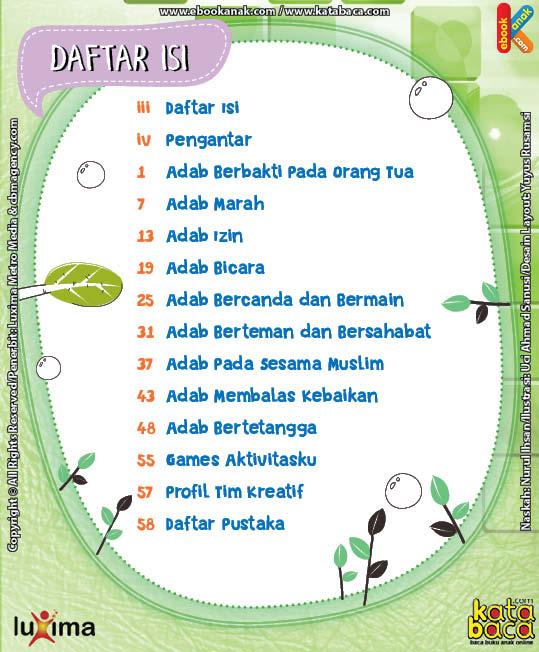 Download Ebook Seri Komik Adab Anak Muslim Adab pada Keluarga dan Orang Lain3