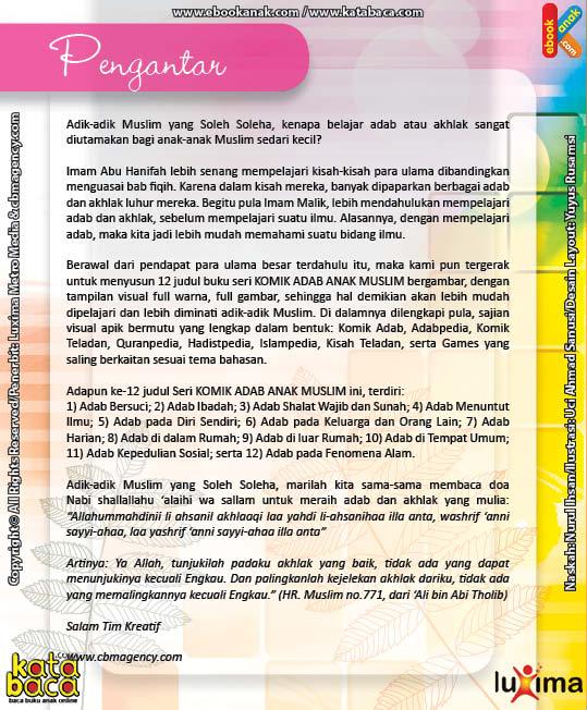 Download Ebook Seri Komik Adab Anak Muslim Adab pada Keluarga dan Orang Lain4