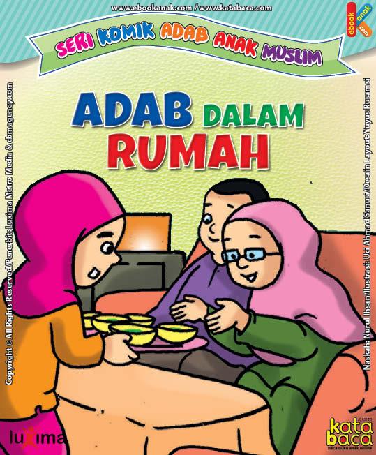 Download Ebook Seri Komik Adab dalam Rumah