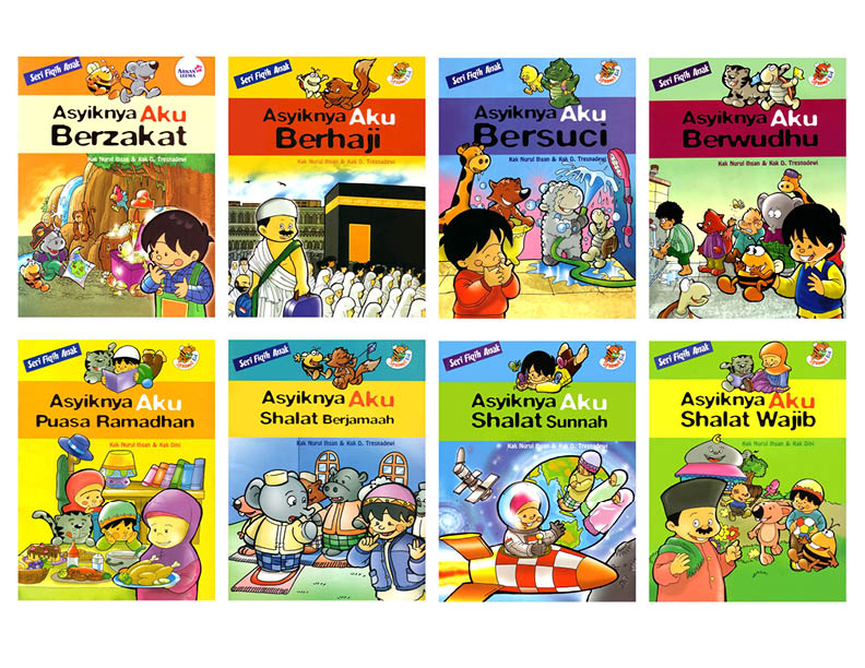 baca dan download ebook paket seri fiqih anak 8 jilid penerbit syaamil kid