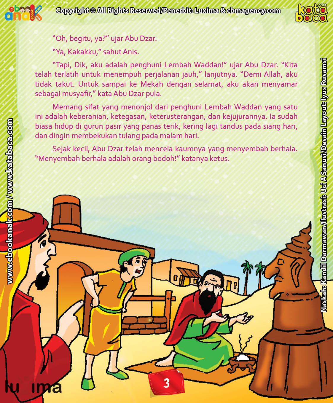 Download Ebook Abu Dzar Al Ghifari, Mencela Kaumnya yang Menyembah Berhala