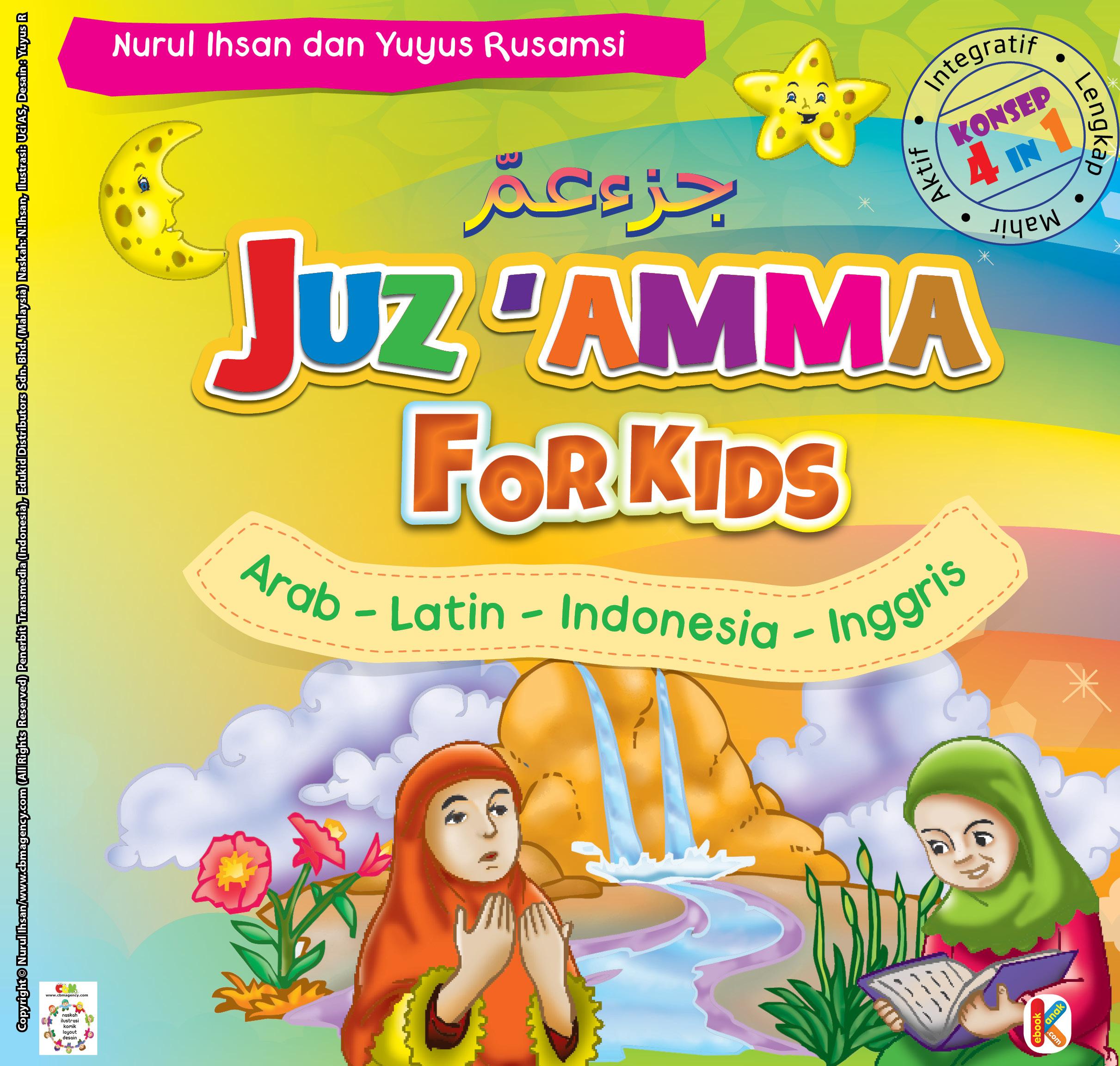 Download Ebook Buku Pintar Juz Amma for Kids 3 Bahasa