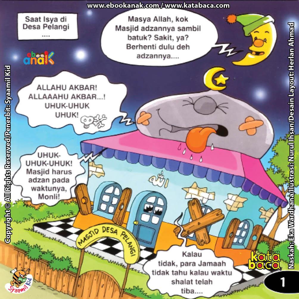 Download Ebook Copyright Seri Balita Shalih Menyayangi Masjid, Ketika Masjid Sakit
