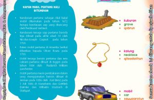 Download Ebook Juz Amma Bergambar 3 Bahasa for Kids, Jendela Sains, Kapan Mobil Pertama Kali Ditemukan